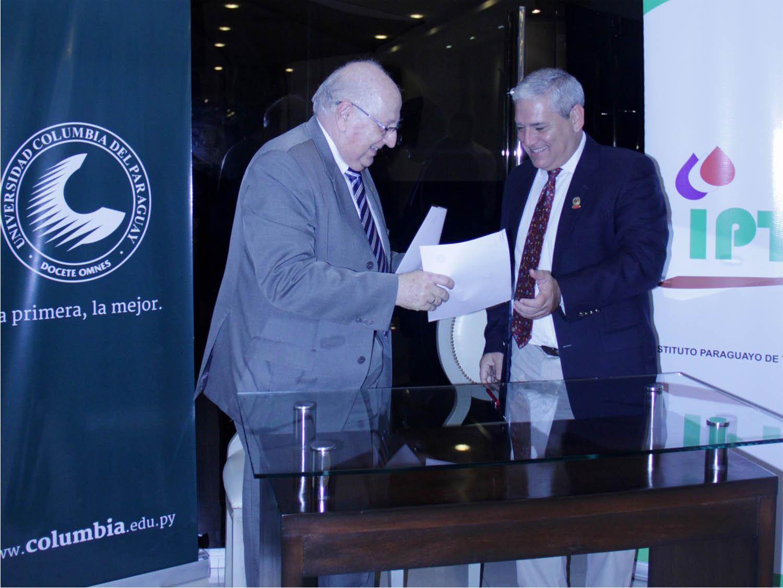 Convenio de Cooperación entre IPTA y Columbia